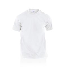 Camiseta Adulto Blanca Hecom