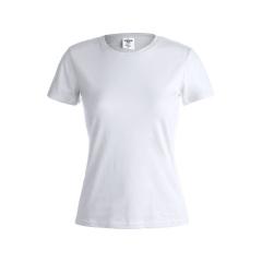 "Camiseta Mujer Blanca ""keya"" WCS150"