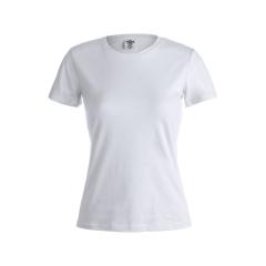 "Camiseta Mujer Blanca ""keya"" WCS180"