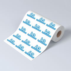 Etiquetas adhesivas en rollo - Papeles lisos