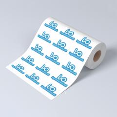 Etiquetas adhesivas en rollo - Papeles reciclados