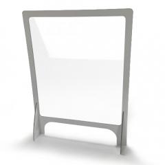 Mamparas con marco de aluminio
