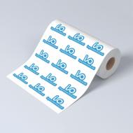 Etiquetas adhesivas en rollo - Forma personalizada