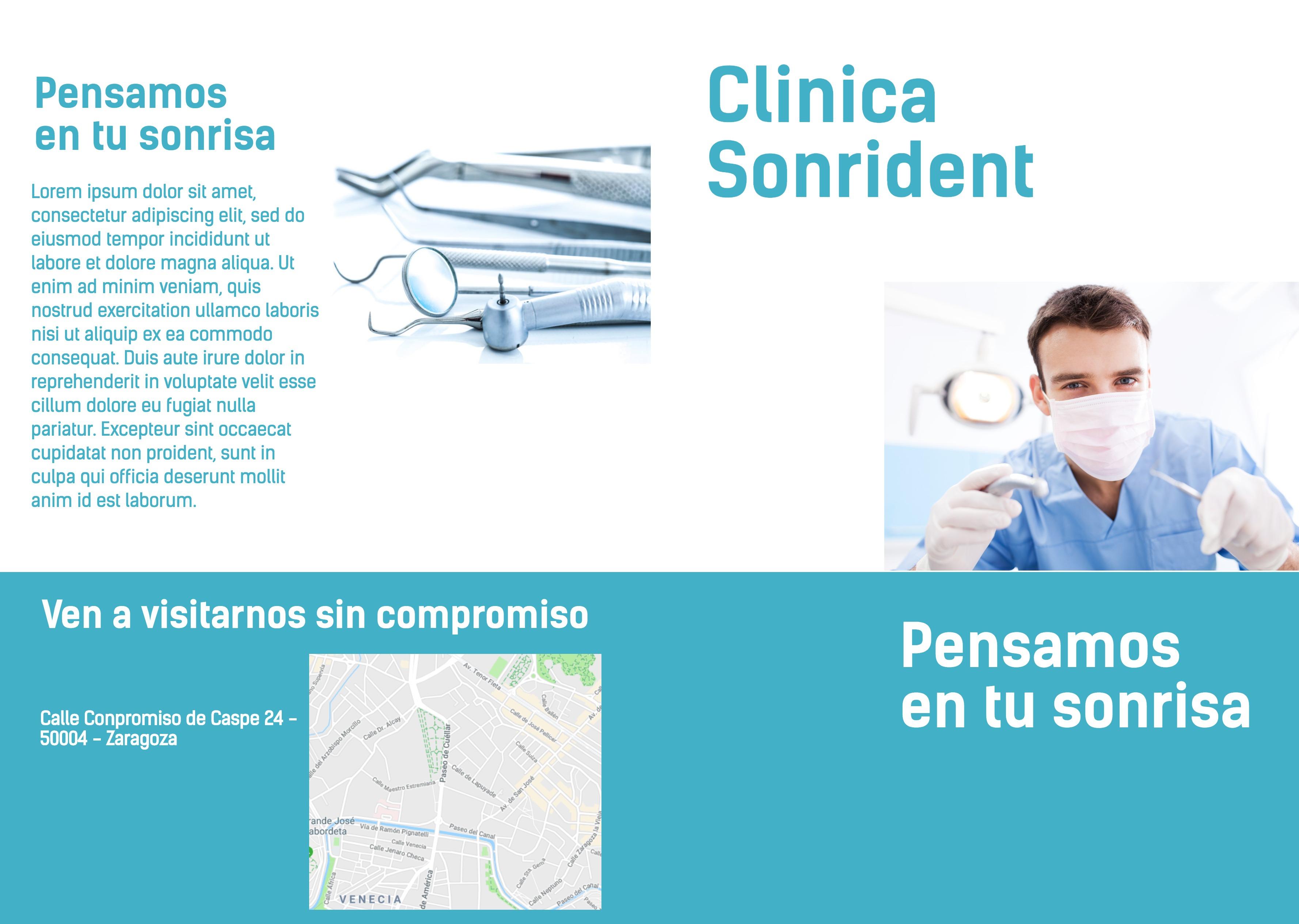 Dípticos clinica